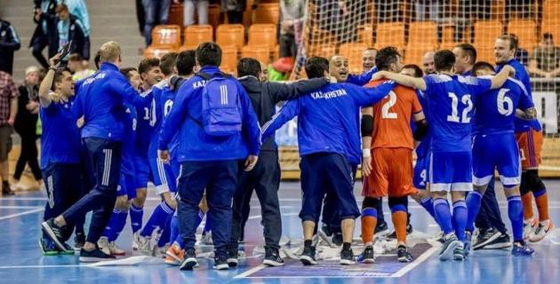 Сборная Казахстана узнала соперников по финальному раунду квалификации футзального Евро-2022