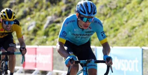 """Капитан """"Астаны"""" поднялся на девятое место в общем зачете """"Тур де Франс"""""""