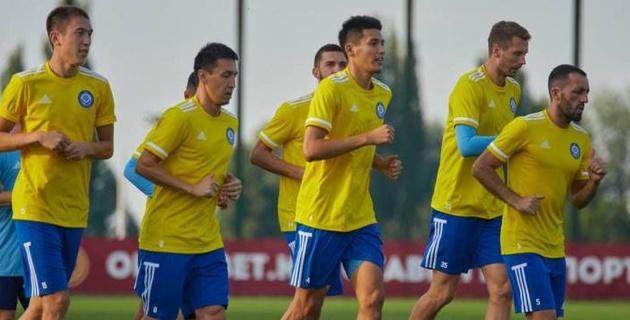 Сборная Казахстана по футболу прибыла в Литву на первый матч в Лиге наций