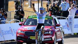 """""""Это большое достижение для меня"""". Луценко из """"Астаны"""" рассказал о победе на этапе """"Тур де Франс"""""""