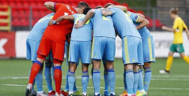 Казахстан благодаря голу Занутдинова обыгрывает Литву после первого тайма в Лиге наций