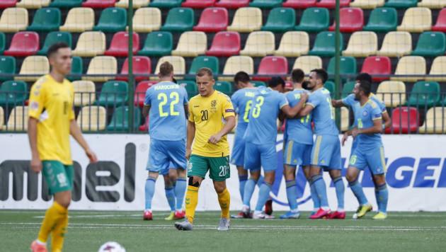 Видео голов Зайнутдинова и Куата. Как сборная Казахстана одержала первую победу в Лиге наций
