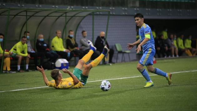 Назван лучший игрок матча Лиги наций Литва - Казахстан