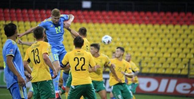 Капитан сборной Литвы нашел объяснение поражению от Казахстана в матче Лиги наций