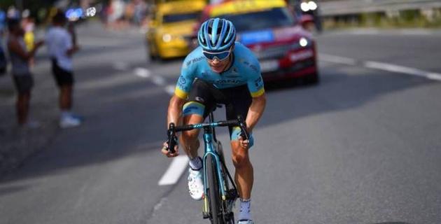 """Капитан """"Астаны"""" поднялся в общем зачете """"Тур де Франс"""" после восьмого этапа"""
