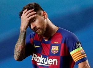"""""""Барселона"""" послала медицинскую бригаду к Месси домой для взятия теста на коронавирус"""