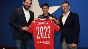 Жуков подписал новый контракт с польской командой