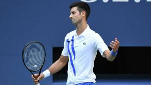 Первую ракетку мира Джоковича дисквалифицировали на US Open за неспортивное поведение