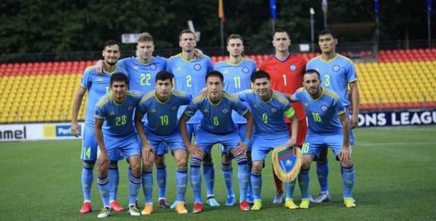 Сборная Казахстана по футболу объявила состав на первый домашний матч Лиги наций