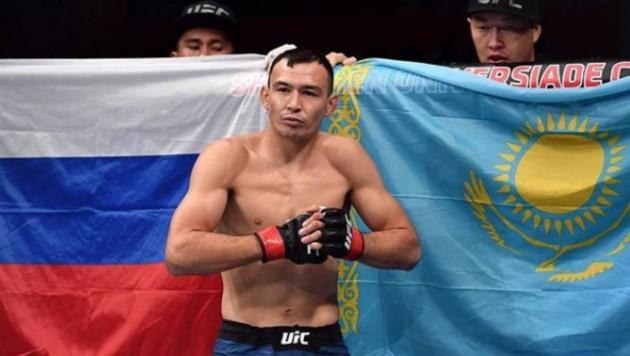 Казахский боец UFC из России Дамир Исмагулов сыграл свадьбу