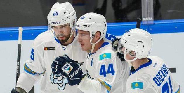 """""""Барыс"""" назвал состав на первый домашний матч в новом сезоне КХЛ"""