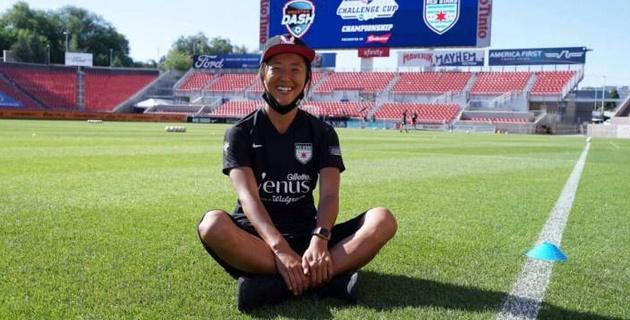 Футболистка сборной Японии будет играть за мужскую команду