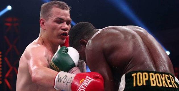 Федор Чудинов нокаутом защитил пояс WBA Gold
