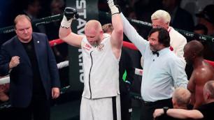 40-летний боец ММА нокаутировал обидчика Майка Тайсона в дебютном бою в профи