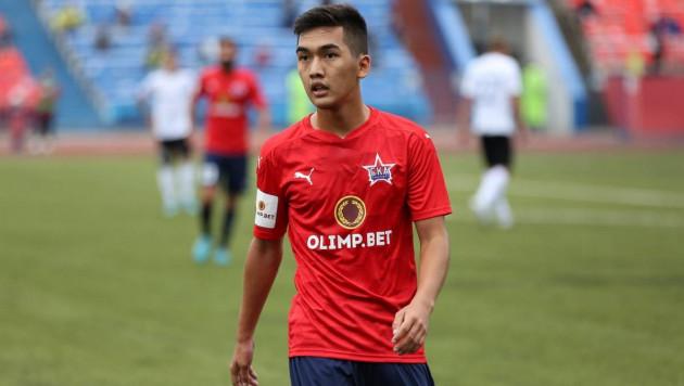Прямая трансляция матча 19-летнего казахстанца за российский клуб после возвращения из сборной