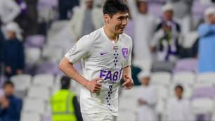 Бауыржан Исламхан забил гол команде Хави в азиатской Лиге чемпионов
