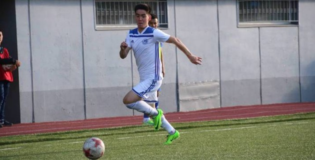 Казахстанский футболист забил прямым ударом с углового