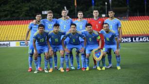 Сборная Казахстана по футболу сохранила свое место в обновленном рейтинге ФИФА