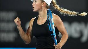 Юлия Путинцева обыграла 16-ю ракетку мира на турнире в Риме и вышла на Елену Рыбакину