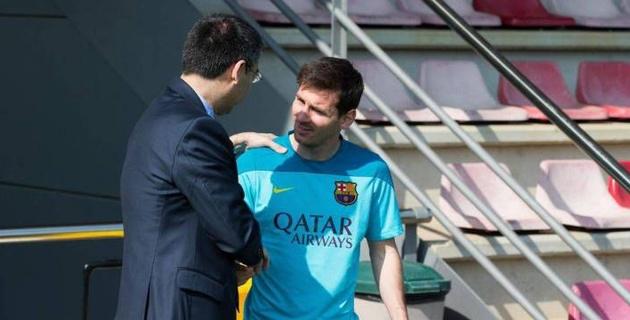 """Президент """"Барселоны"""" высказался о конфликте с Месси"""