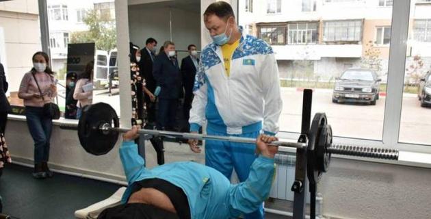 В Кокшетау открылся первый спортивный комплекс  для людей с ограниченными возможностями
