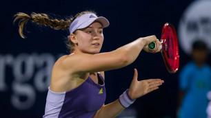 Елена Рыбакина вышла в 1/4 финала турнира WTA в Страсбурге