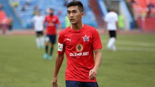 Российский клуб казахстанского футболиста проиграл пятый матч в чемпионате
