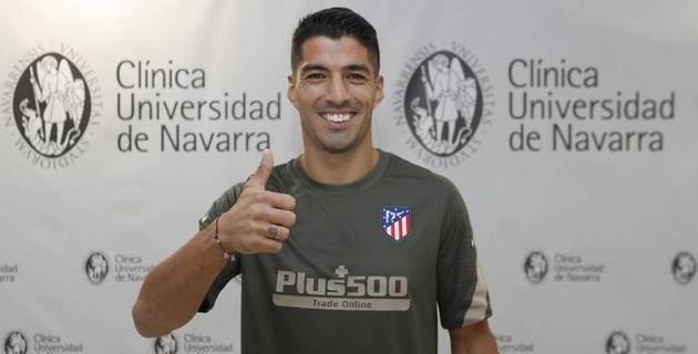 """""""Атлетико"""" официально объявил о переходе Луиса Суареса"""