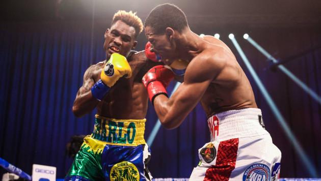 Брат-близнец Чарло ударом по корпусу нокаутировал соперника в объединительном бою за три титула
