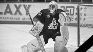 Задержан предполагаемый виновник гибели экс-хоккеиста казахстанского клуба
