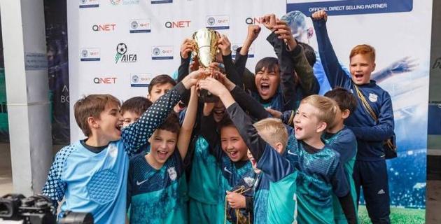 В Алматы состоялся первый детский футбольный турнир после пандемии