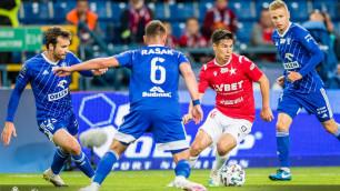 Зарубежные СМИ сообщили о проблемах со здоровьем у футболиста сборной Казахстана
