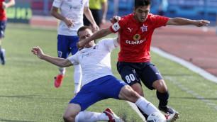 Кенесов против Оразова. Прямая трансляция матча ФНЛ между клубами двух казахстанских футболистов