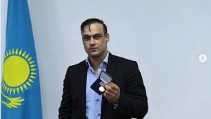 """Илья Ильин награжден медалью """"Народная благодарность"""""""