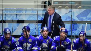 """Тренер """"Барыса"""" нашел объяснение поражению от """"Автомобилиста"""" и рассказал о кондициях игроков"""