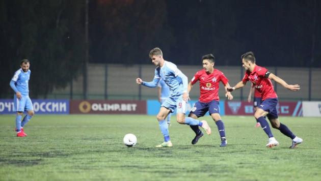 Казахстанский футболист помог своей команде отобрать очки у лидера ФНЛ