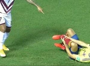 Защитник сборной Колумбии получил ужасную травму во время отборочного матча к ЧМ-2022