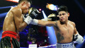 Мексиканский боксер победил американца в главном поединке вечера с участием Алимханулы