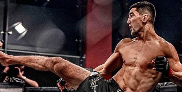 Уроженец Казахстана эффектно нокаутировал соперника на турнире по ММА в России