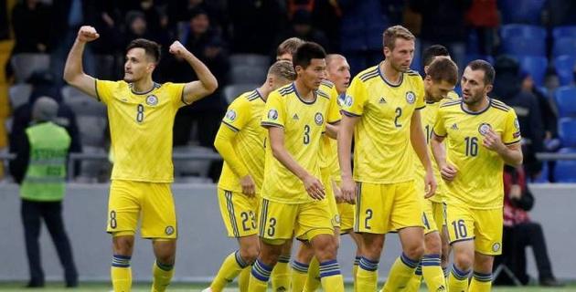 Сборная Казахстана по футболу объявила состав на матч Лиги наций с Албанией