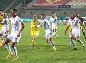 Сборная Казахстана сыграла вничью с Албанией и сохранила лидерство в группе Лиги наций