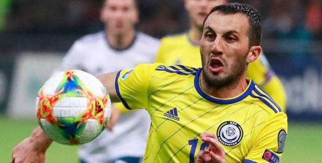 Сборная Казахстана понесла еще одну потерю перед матчем с Беларусью в Лиге наций