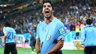 Лучший в Южной Америке. Суарес обошел по голам за сборную Месси и Роналдо