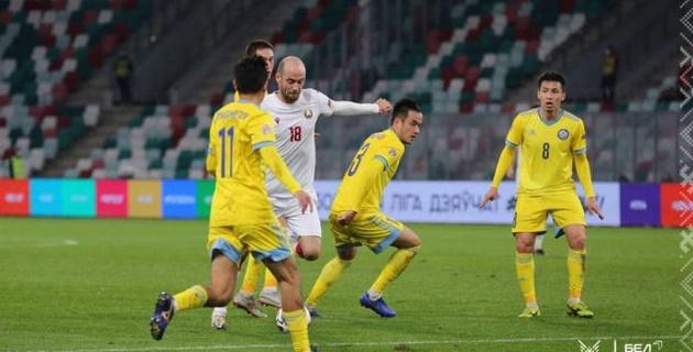 Сборная Казахстана снова проиграла Беларуси и лишилась лидерства в группе Лиги наций