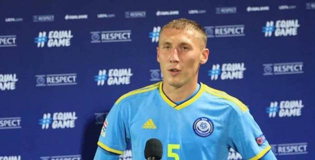 Куат - худший? Назван лучший игрок сборной Казахстана в матче Лиги наций с Беларусью
