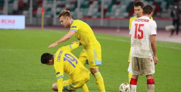 Неуд, пересдача через месяц. Чего ждать от оставшихся матчей сборной Казахстана в Лиге наций?