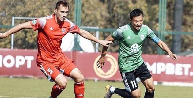 Экс-игрок сборной Казахстана помог одному из претендентов на выход в КПЛ выиграть шестой матч в сезоне
