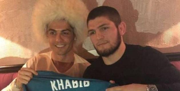 """""""Хабиб победит, Иншааллах!"""". Роналду поддержал чемпиона UFC из России"""