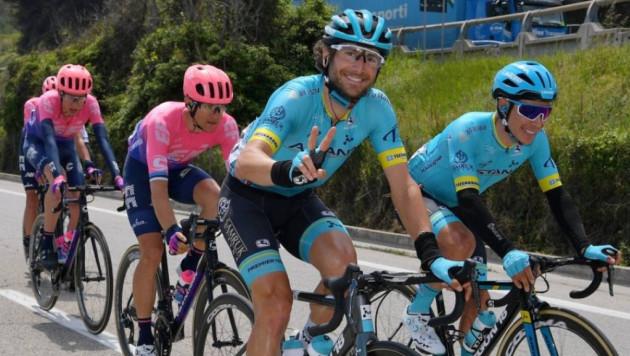 """Велогонщик """"Астаны"""" стал девятым на 16-м этапе """"Джиро"""", Фульсанг сохранил свою позицию в общем зачете"""