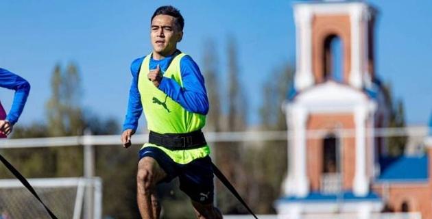 Казахстанский футболист российского клуба вернулся к тренировкам после коронавируса